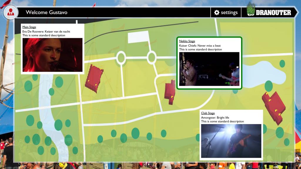A screenshot of the Smart TV App