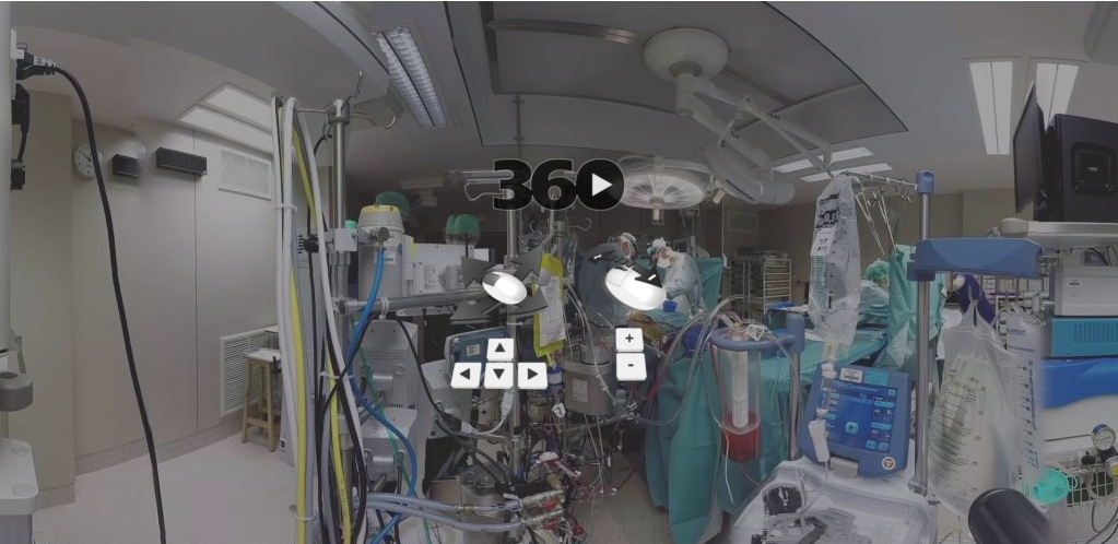 surgie used during a live surgery – © surgie