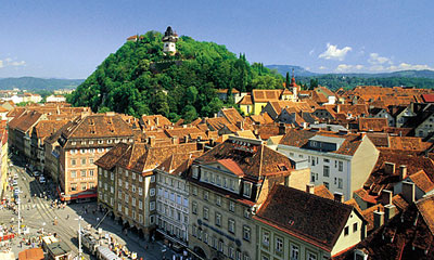 Clock Tower of Graz (Copyright Graz Tourismus)