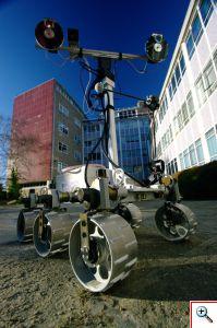 Aberystwyth University Rover (outside)