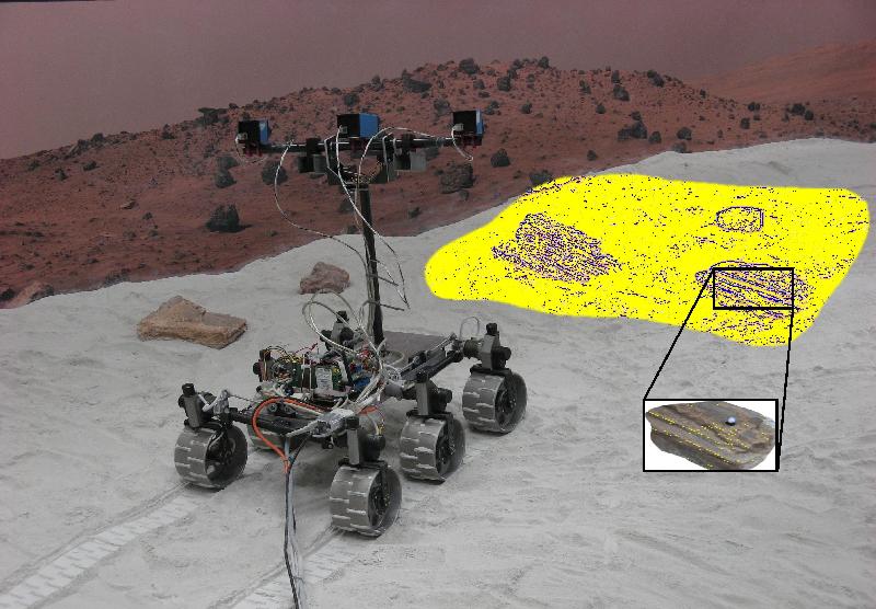 Rover at the Aberystwyth University PAT Lab