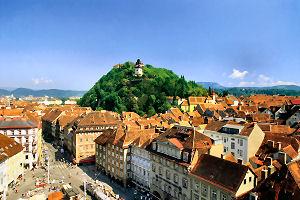 Graz Uhrturm (Copyright Graz Tourismus)