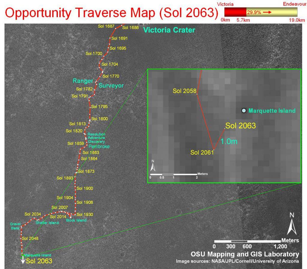 MERB_Traverse_Sol-2063