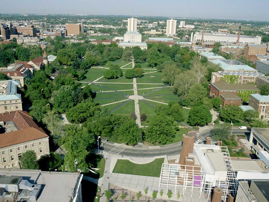 Ohio State University Campus Oval